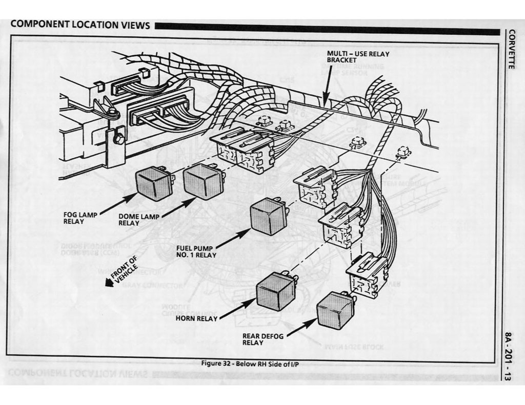 Volvo Penta Exploded View Schematic Fuse And Relay Box