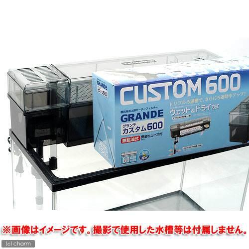 GEX グランデカスタム600 60cm水槽用上部フィルター ジェックス