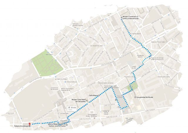 Ruta Alcalá de Henares