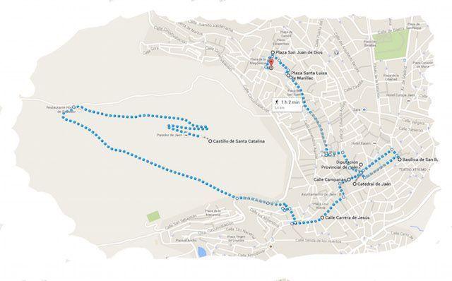 Ruta Que hacer en Jaén