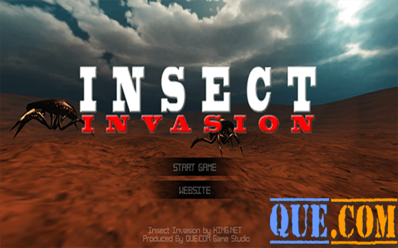 QUE.COM - Insect Invasion 3D Game
