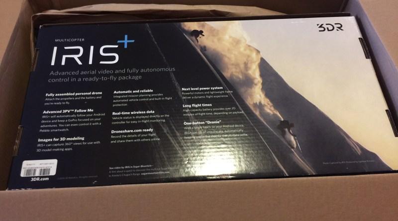 My Christmas Gift 3D Robotics IRIS