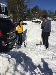 Maganda.com- Ian and Pia - Snow clean up