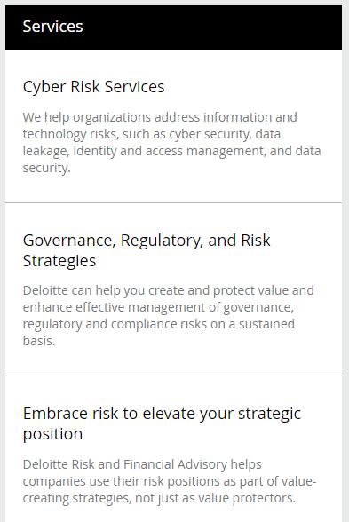 20170928.Deloitte.CyberRiskServices