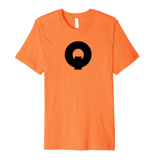 QUE.com,TShirt.Orange