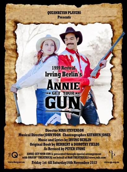 2013 Annie Get Your Gun
