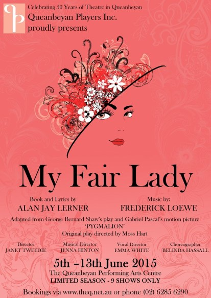 My Fair Lady - A3 Poster