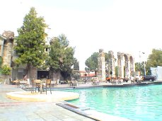 Fountain pond in Selcuk, Acqueduct