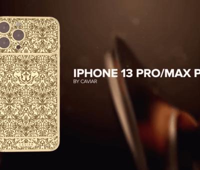 Así luce la edición limitada de lujo extremo del iPhone 13 Pro, el más caro del mundo