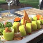 Sushi fusión comida japonesa y mexicana