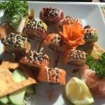 Sushi mexicano y japones