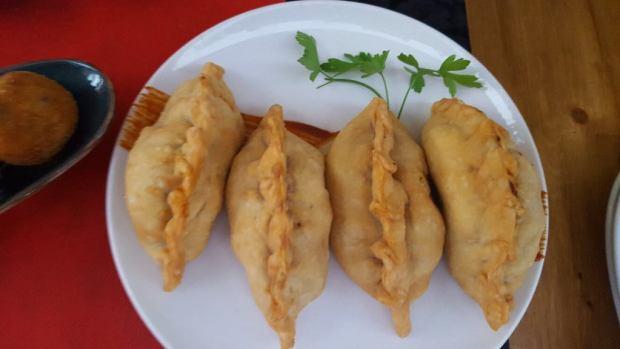 Empanadillas de carne de criolla