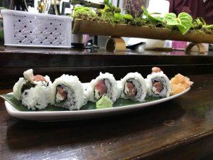Sushi en el mercado de Triana
