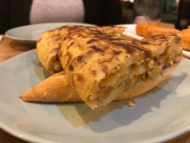 Pincho de tortilla La patineta