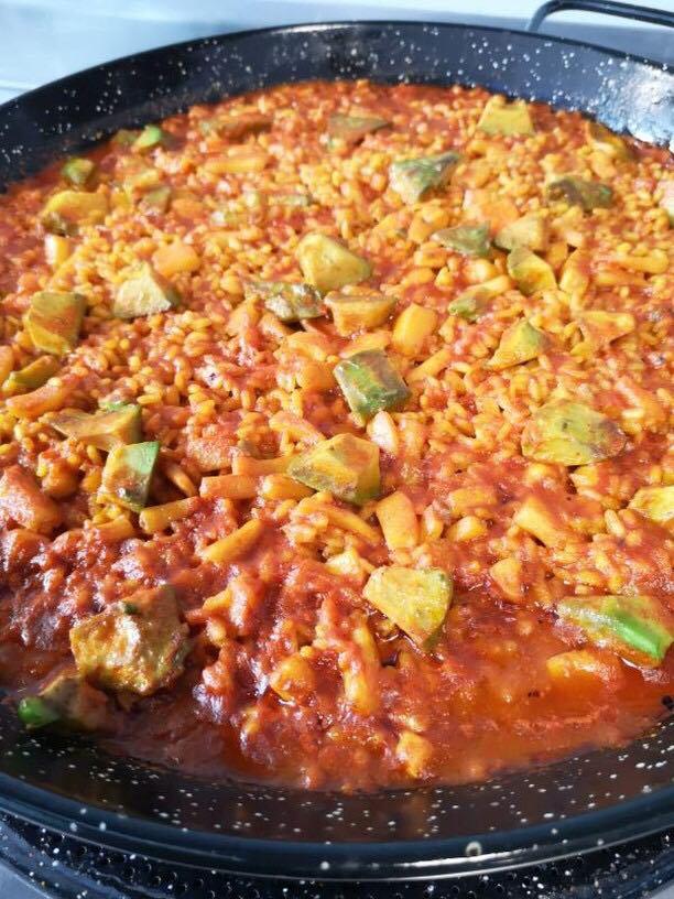 Paella vegetal Directo al grano by Nesta