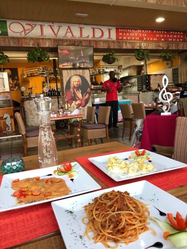 Violin música en directo Restaurante Vivaldi