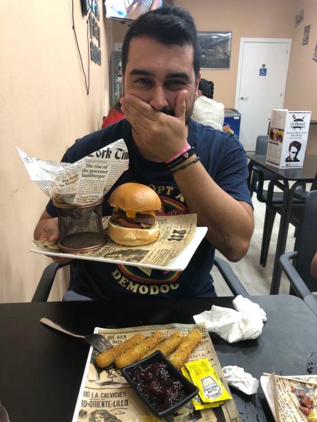 Comilero burger antojao