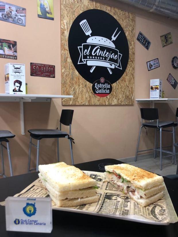Sandwich Antojao Burger
