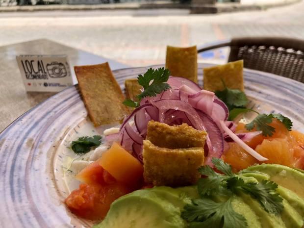 bar café el populacho en aguimes comida canaria ceviche peruano