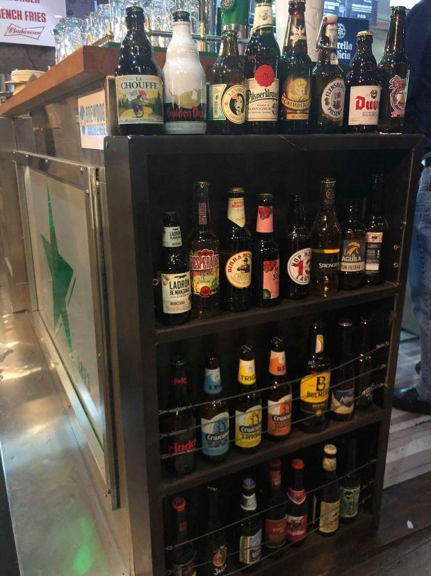 cervezas terraza geiser