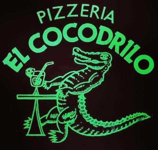 logo pizzeria el cocodrilo