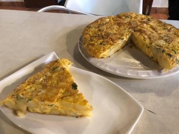 tortilla española pizzeria el cocodrilo