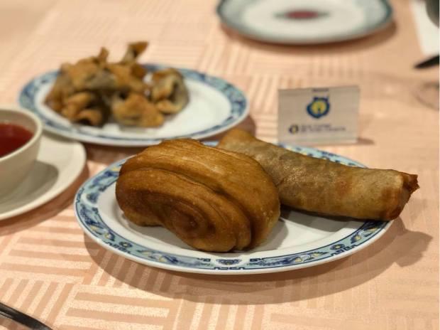 Entrantes restaurante taiwán