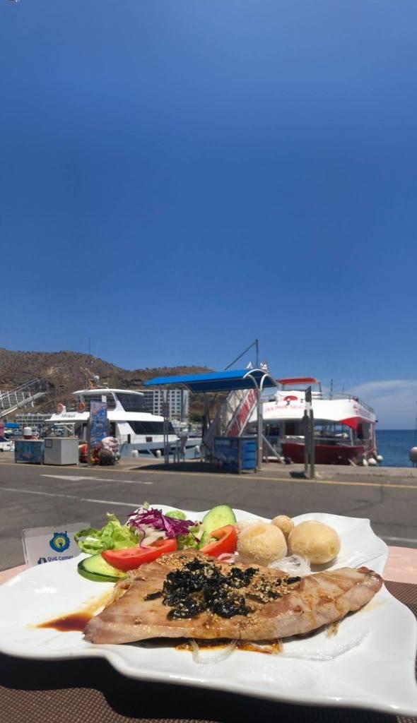 atún grill costa mar puerto rico cocina mediterránea