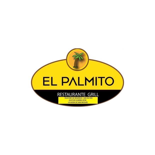 logo restaurante el palmito en la Aldea