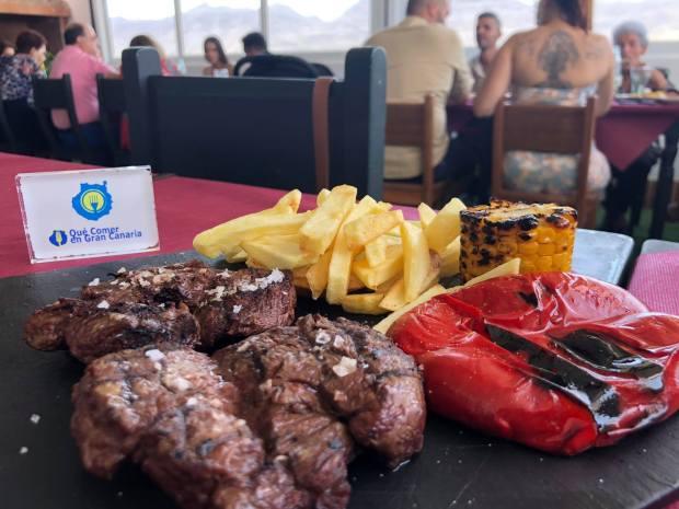 solomillo restaurante grill en la aldea El palmito