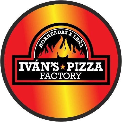 logo ivan´s pizza factory pizzas artesanales en horno de leña en Arinaga