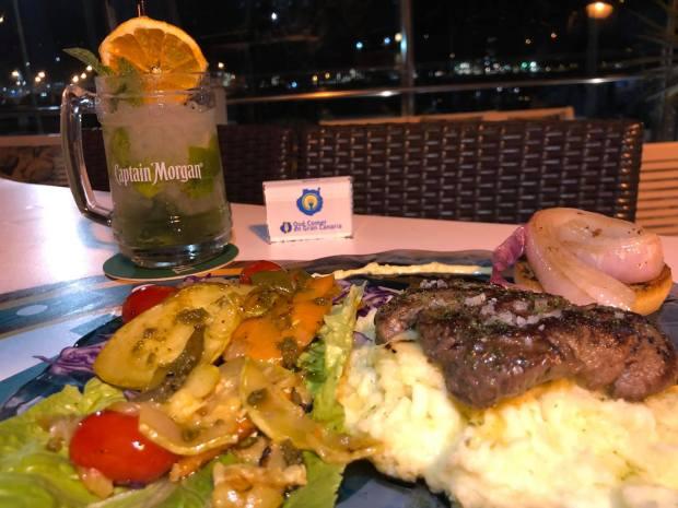 solomillo de carne bahía blue 21 sotavento