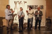 <h5>Premios Pirineos Sur 2016</h5><p>Premiados con el presidente de la DPH</p>