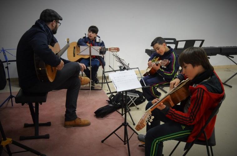Mumo escuela de música moderna de Huesca