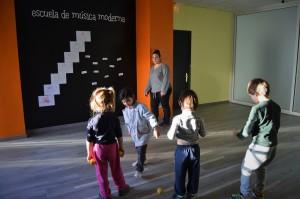 La escuela de Música Moderna de Huesca acoge alumnado a partir de los 3 años de edad.