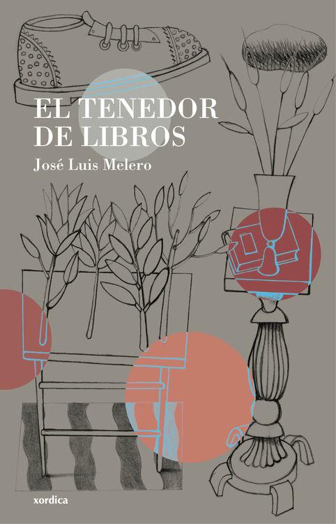 Portada de El tenedor de libros, de José Luis Melero.