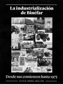 Portada del Libro La Industrialización de Binéfar, de Silvia Isábal Mallén