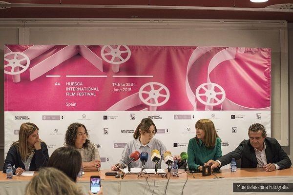 presentación festival cine huesca