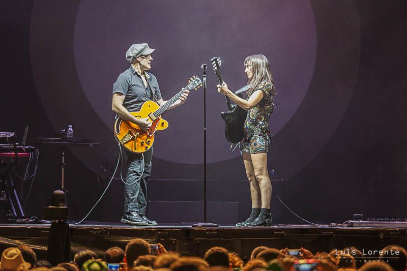 Juan Aguirre y Eva Amaral, frente a frente.