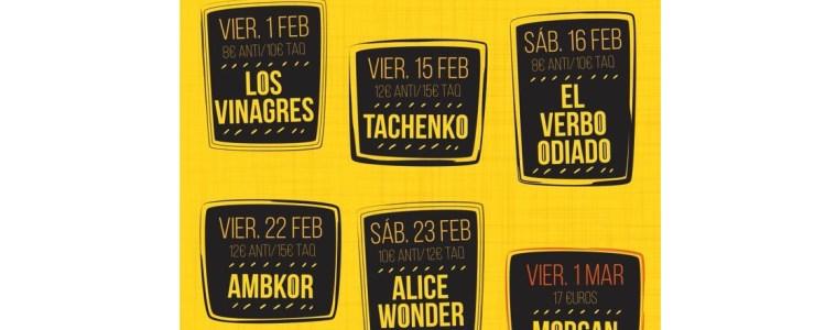 conciertos el veintiuno febrero