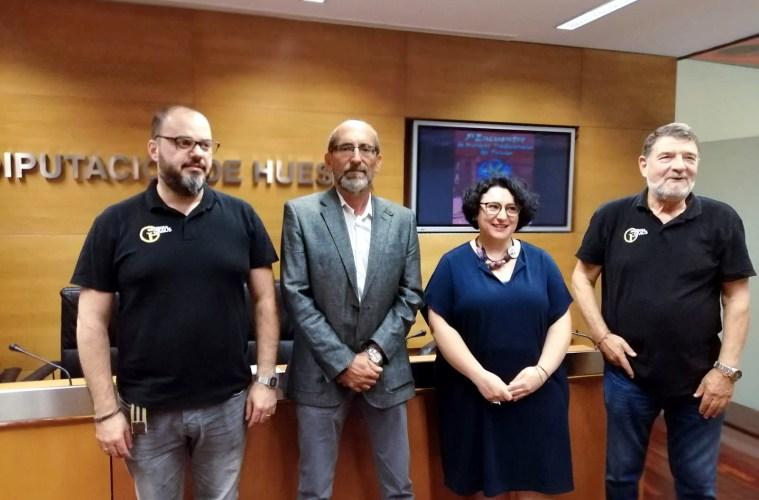Imagen de la presentación del Encuentro de Músicas del Pirineo 2019