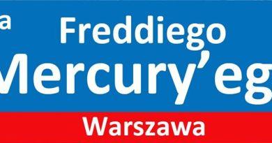 Aleja (parkowa) Freddiego Mercury'ego w Warszawie- dokumenty ZŁOŻONE!!!