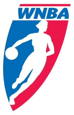 The old WNBA logo from 1997