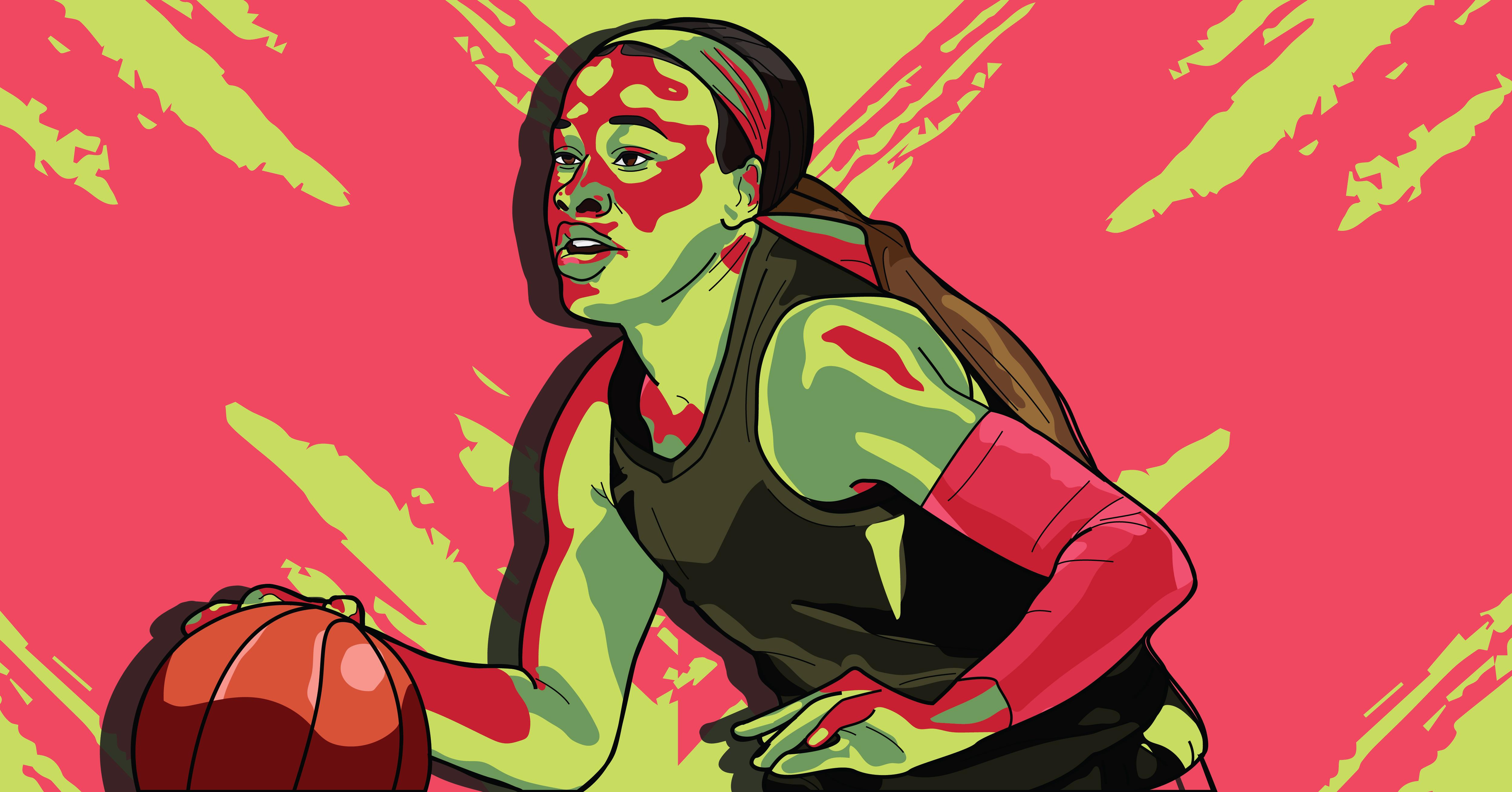 Chennedy Carter Basketball Dynamite