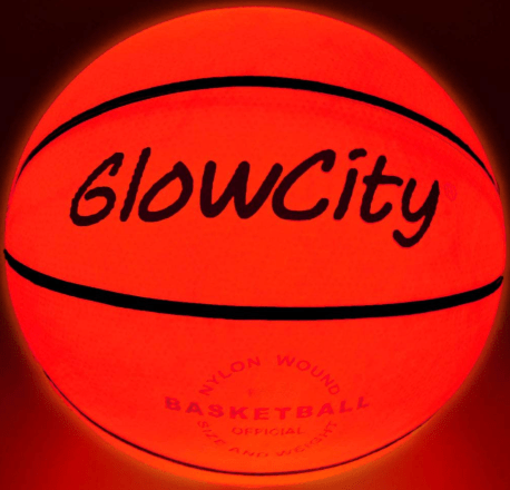 GlowCity LED Light-Up Basketball for women