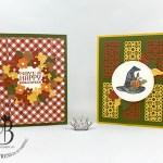 Stampin! Up! September paper pumpkin alternative by Lisa Ann Bernard of Queen B Creations
