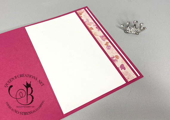 Stampin' Up! Butterfly Brilliance Collection on bricks and mortar by Lisa Ann Bernard of Queen B Creations set
