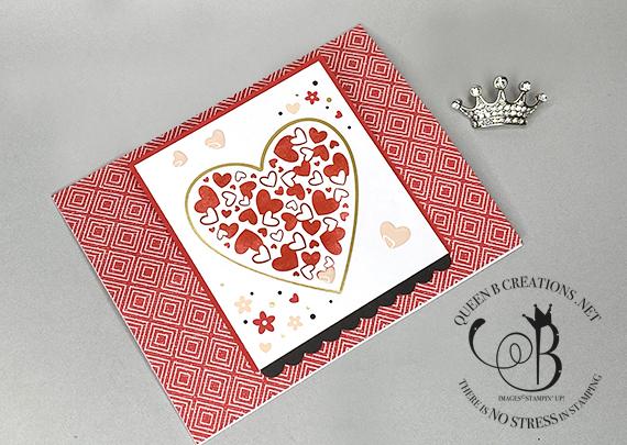 Stampin' Up! Sending Love January 2021 Paper Pumpkin alternatives & stamp case insert by Lisa Ann Bernard of Queen B Creations