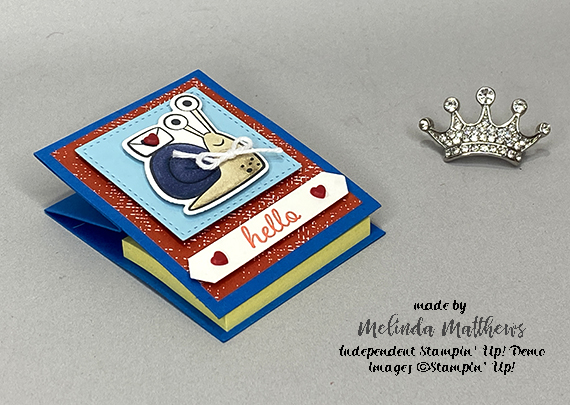 Stampin' Up! Snailed It Post It Note Holders by Melinda Matthews - Creative Royalty Team - Queen B Creations