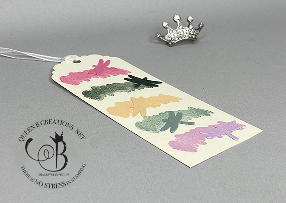 Stampin' Up! 2021-2023 In Colors Bookmark by Lisa Ann Bernard of Queen B Creations